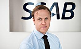 Pär Åkerbäck, SSAB